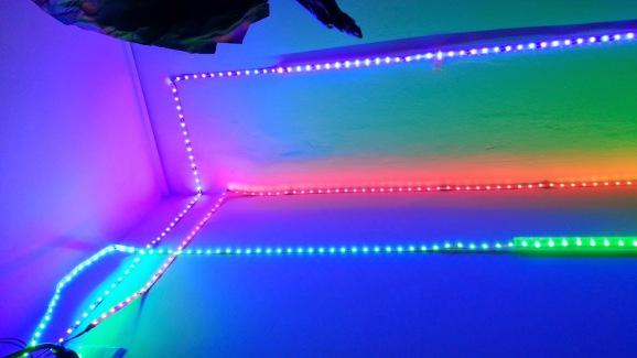 LEDs in Hallway